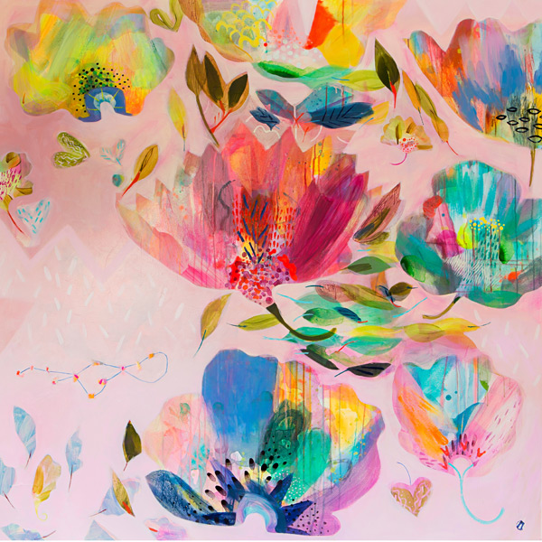 Becky Blair- Halcyon Garden Limited Edition Print