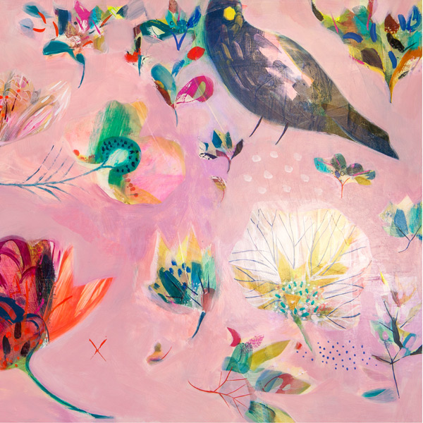 Becky Blair - Peony Garden Limited Edition Print