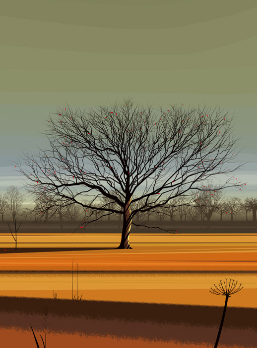 Dan Crisp - Majestic Tree - Limited Edition Print