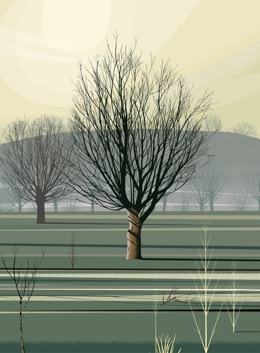 Dan Crisp - Morning Shadows - Limited Edition Print