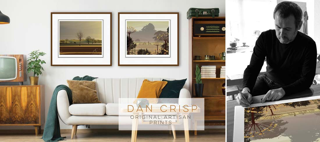 Dan  Crisp Original Prints