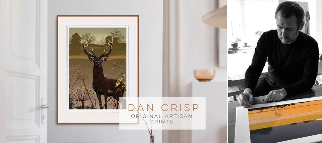 Dan Crisp Original Limited Edition Prints