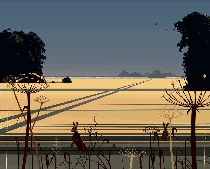Dan Crisp - Evening Calm - Limited Edition Print