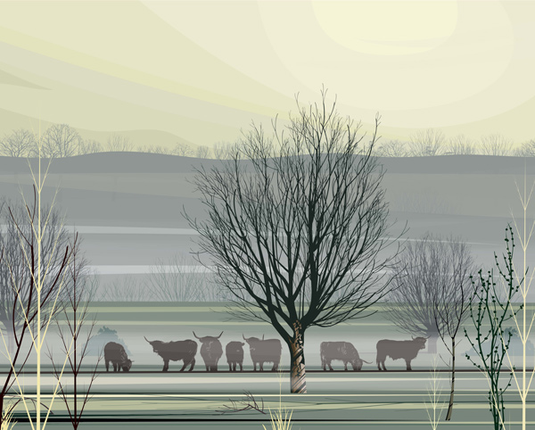 Dan Crisp Misty Morning Limited Edition Print
