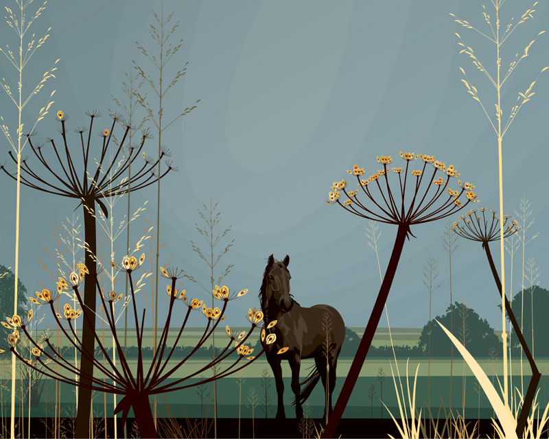 Dan Crisp - Still Pasture - Limited Edition Print