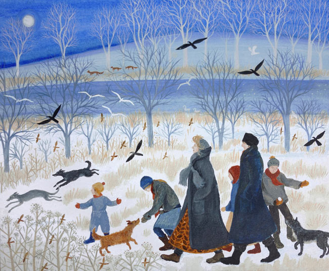 DN3025-Dee-Nickerson-Winter-on-the-Marsh-signed-limited-edition-print