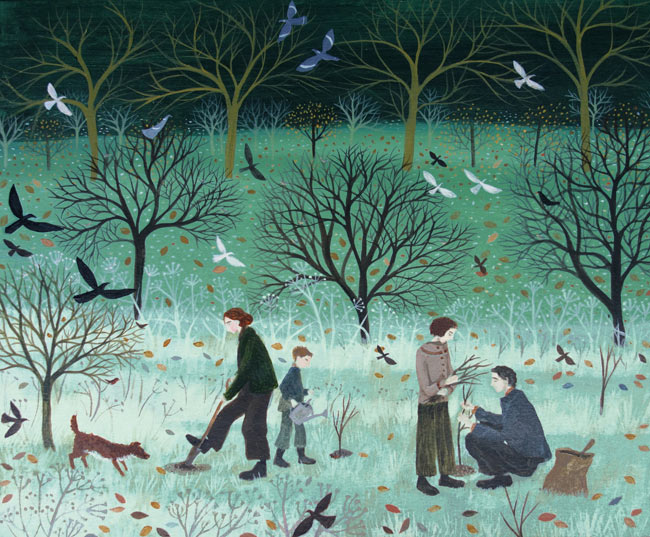 DN3026-Dee-Nickerson-Planting-Trees-signed-limited-edition-print
