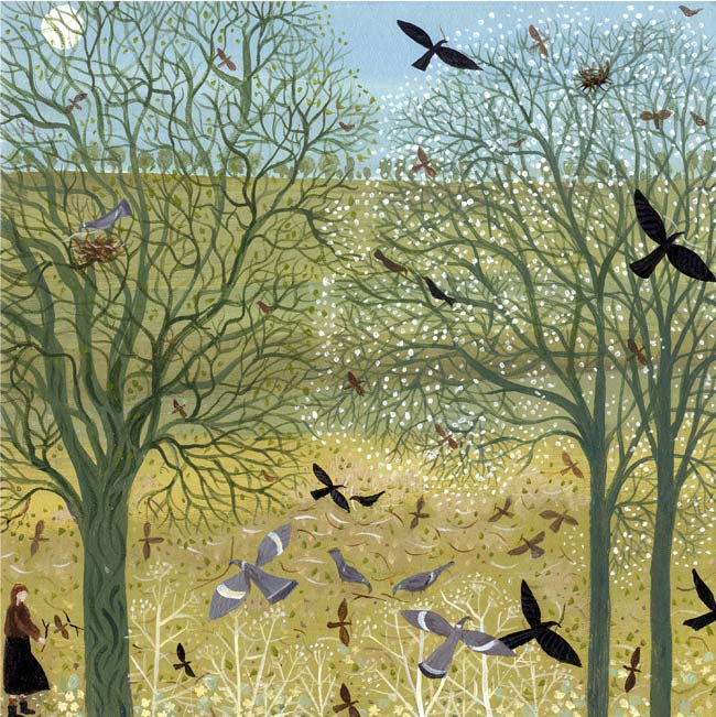 DN3101-Dee-Nickerson-Gathering-Sticks-Limited-Edition-Print