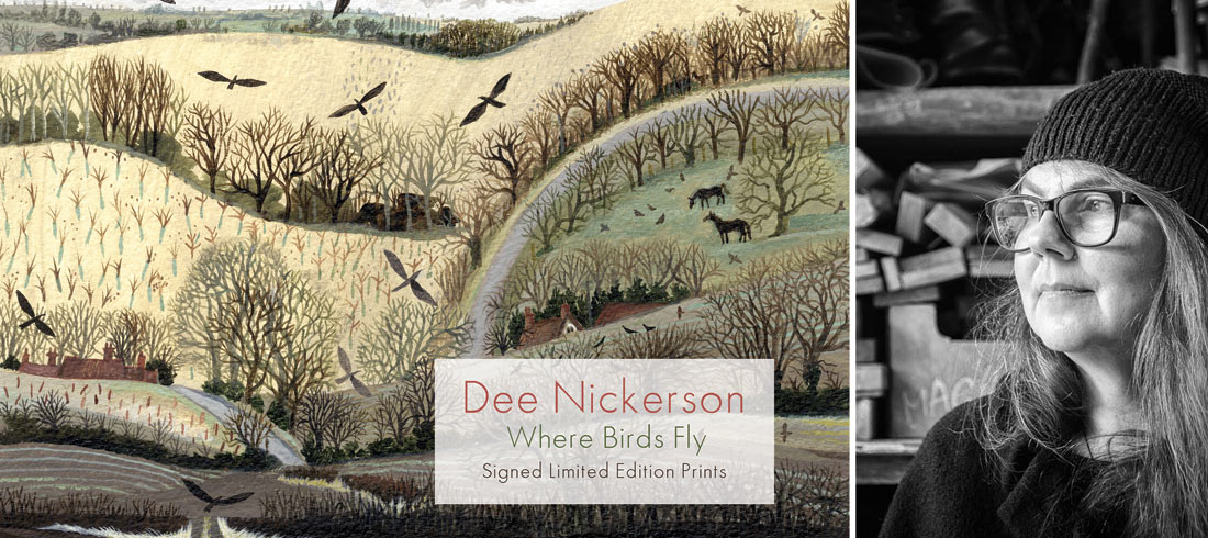 Dee Nickerson Limited Edition Prints