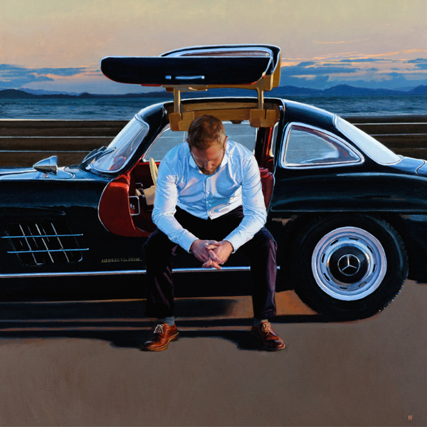 Iain Faulkner - Pit Stop II Limited Edition Print