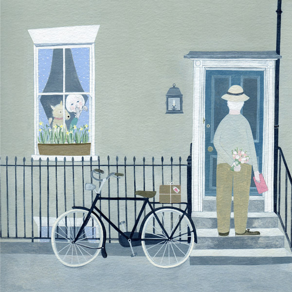 Mani Parkes - A Surprise Visit - Limited Edition Print