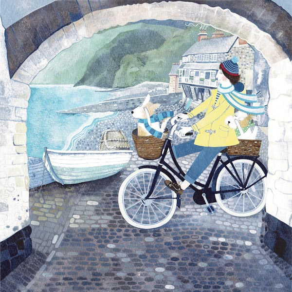 Mani Parkes - Whizzing Along - Limited Edition Print