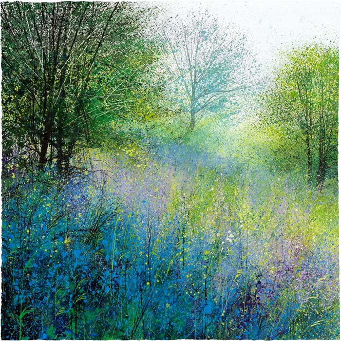 Paul Evans - Bluebell Meadow - Signed Limited Edition Print