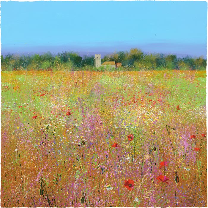 Paul Evans - Through the Meadow - Signed Limited Edition Print