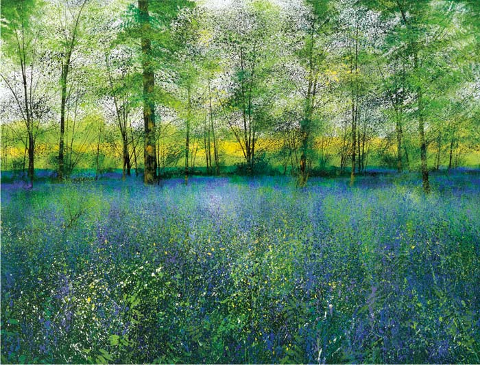 Paul Evans - Scent of Bluebells - Signed Limited Edition Print
