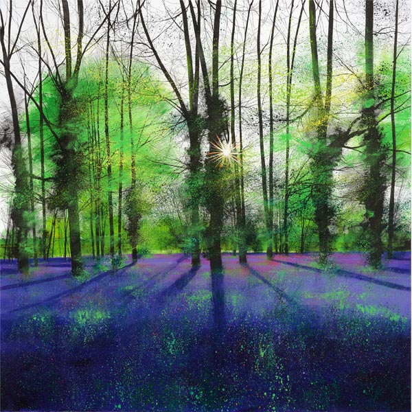 PE3204-Paul-Evans-Sunburst-and-Bluebells-signed-limited-edition-print