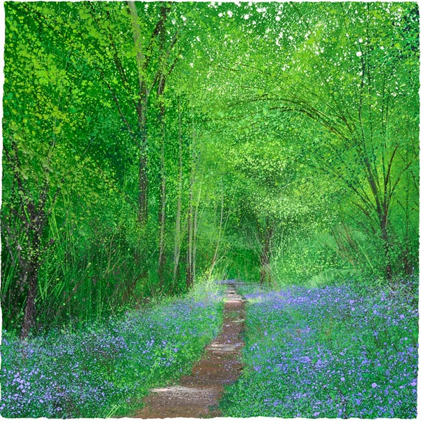 Paul Evans Bluebell Way Limited Edition Print