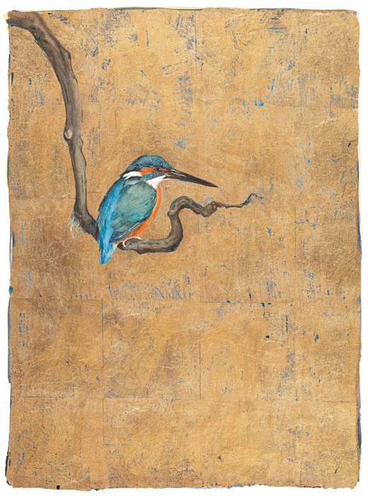 The Lost Words - Jackie Morris - Robert Macfarlane - Kingfisher - Signed Limited Edition Print