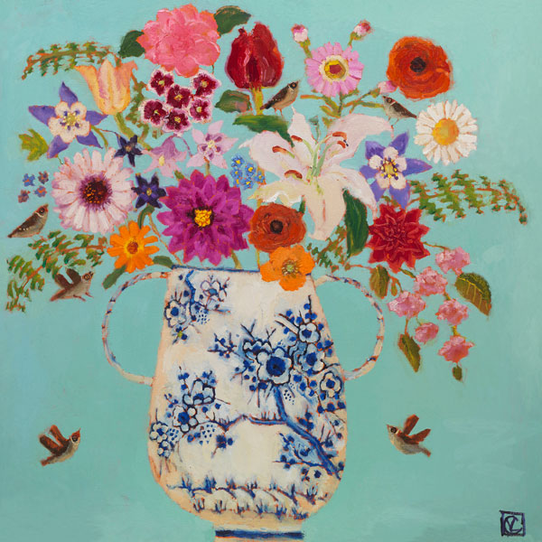 Vanessa Cooper - Summer Bounty - limited edition print