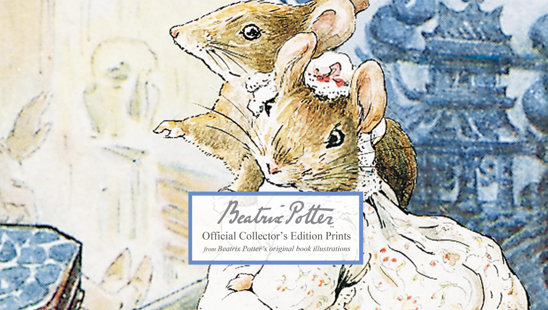 Beatrix Potter illustrations Peter Rabbit