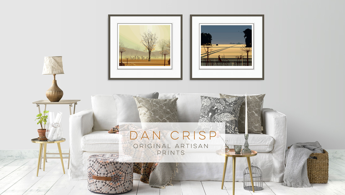 Dan Crisp Signed Original Limited Edition Prints