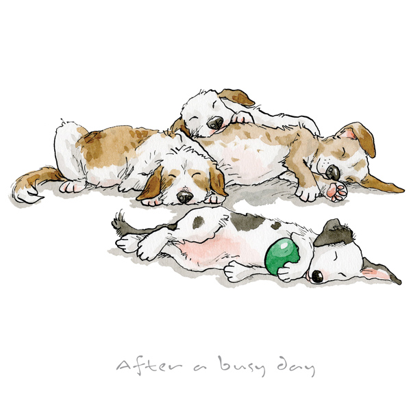 Anita Jeram - After a busy Day