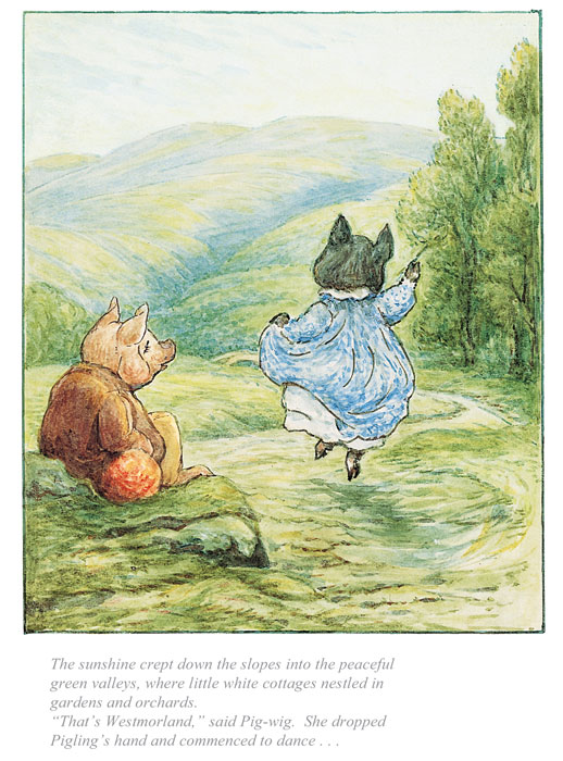 Beatrix Potter - Tale of Pigling Bland