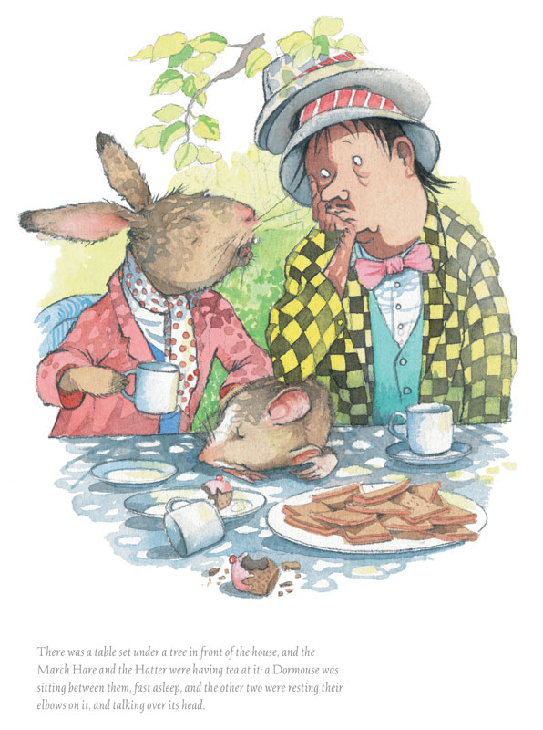 Helen Oxenbury - March Hare and Mad Hatter