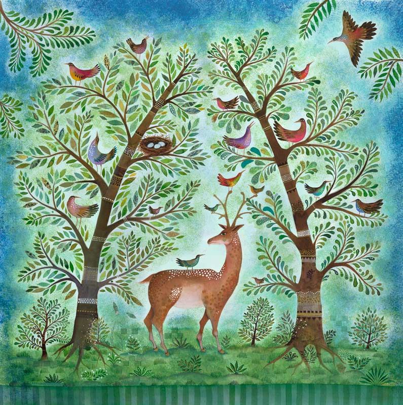 Jane Ray - Enchanted Forest - Limited Edition Print