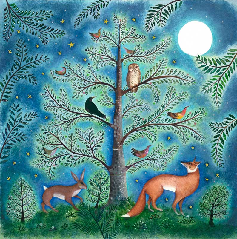 Jane Ray - Moonlit Clearing - Limited Edition Print