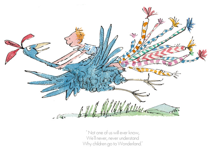 RD9268-Roald-Dahl-Quentin-Blake-Dirty-Beasts-Why-children-go-to-Wonderland-Print