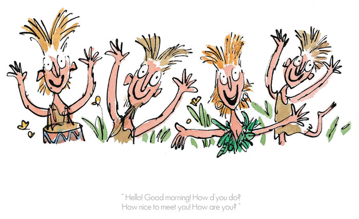 Roald Dahl & Quentin Blake - Hello, Good Morning