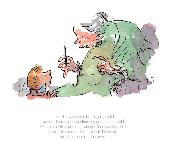 Roald Dahl - I shall never have a bath again - The Witches