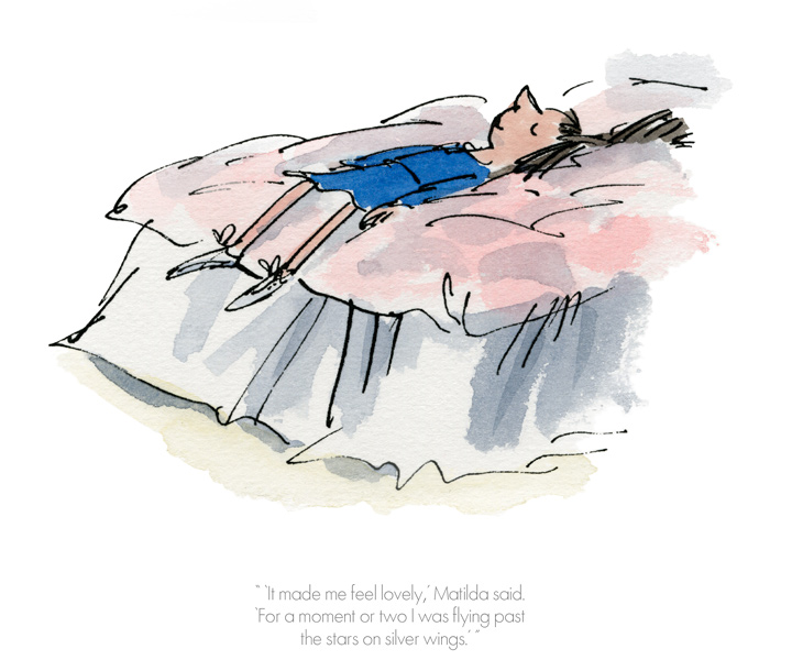 Roald Dahl - It made me feel lovely - Matilda