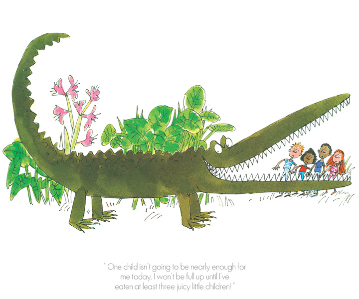 Roald Dahl - One child isnt going to be enough - Enormous Crocodile