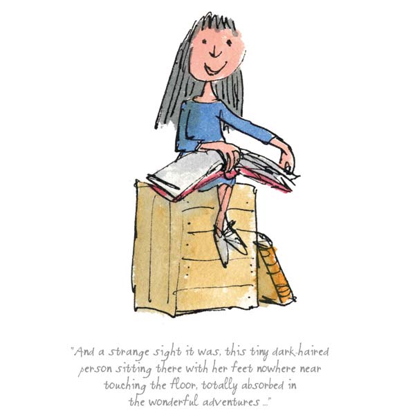 Roald Dahl Quentin Blake Totally Absorbed In Wonderful Adventures