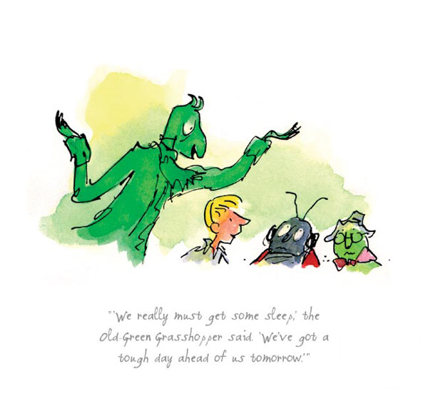 Roald Dahl - We really must get some sleep - James and the Giant Peach