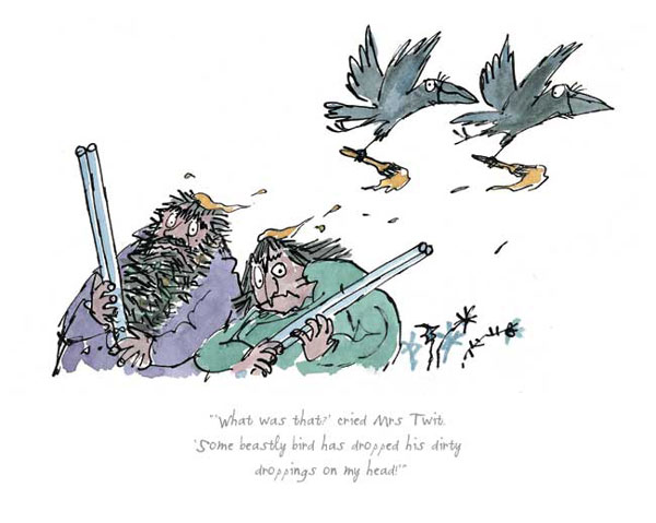 Roald Dahl - What was that cried Mrs Twit - The Twits