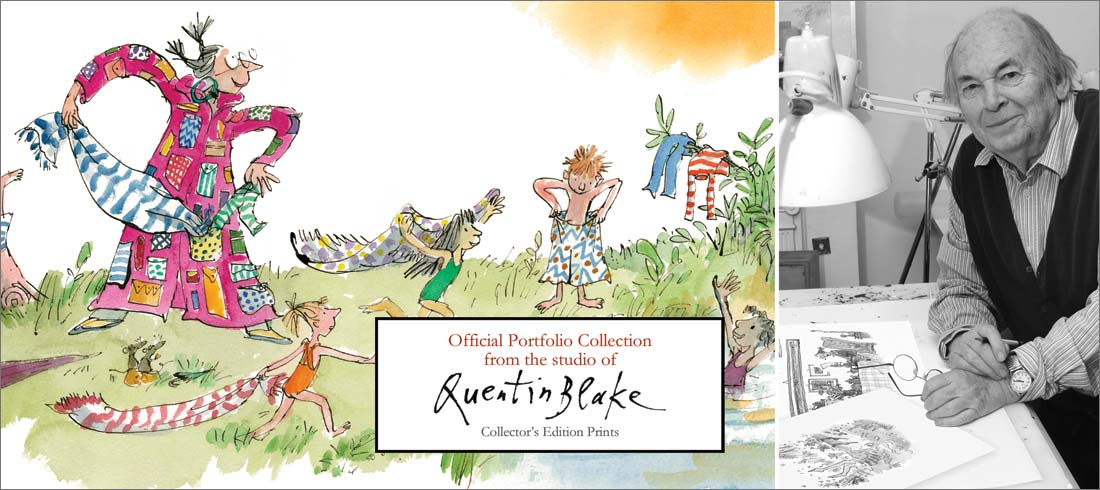 Quentin Blake Limited Edition Prints