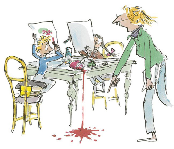 Sir Quentin Blake - Simpkin That