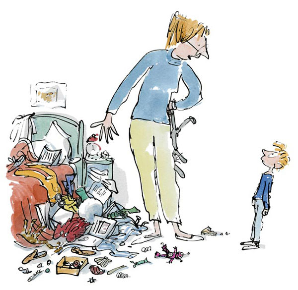 Sir Quentin Blake - Simpkin This