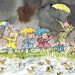 Quentin Blake Signed Limited Edition Prints