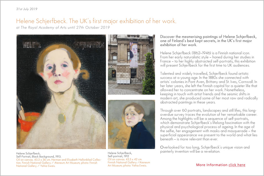 Helen Schjerfbeck at the RA
